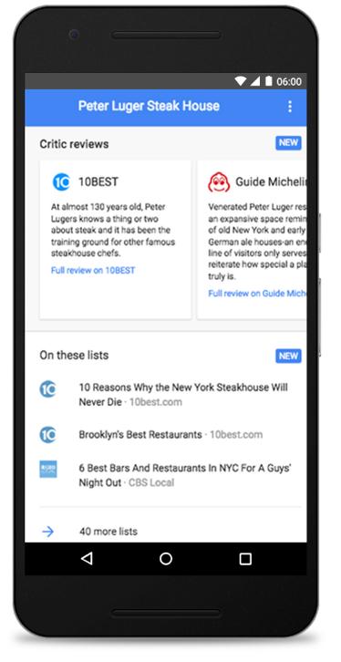 Google Local Structured Data Markup
