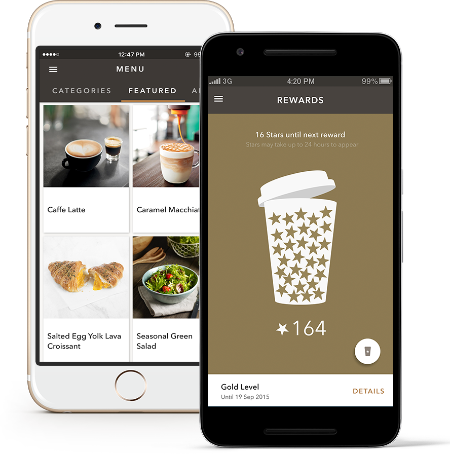 Starbucks Customer Loyalty App Image