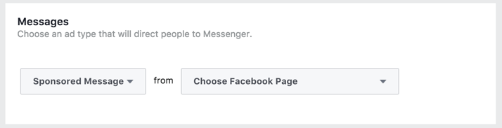 Facebook Business Sponsored Messenger Set-Up